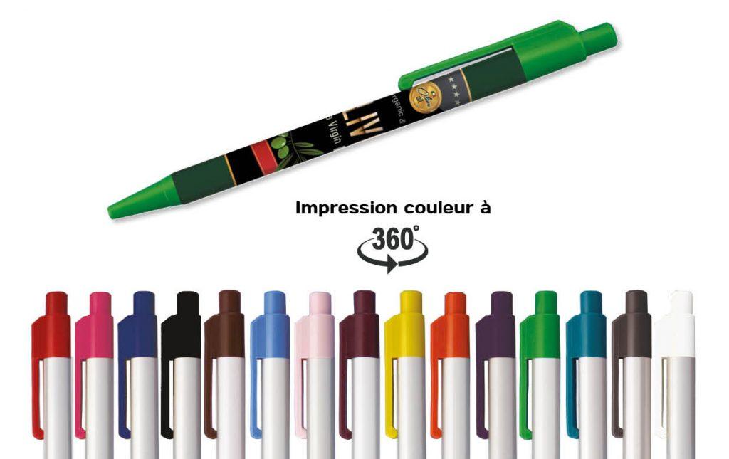 Objet Publicitaire-Stylo-visuel-personnalisation-Olive-Site