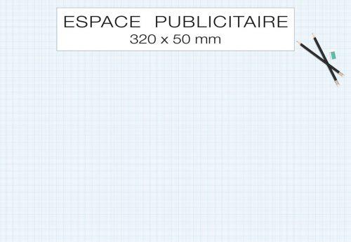Fabricant français de sous-main publicitaire personnalisé modèle technic